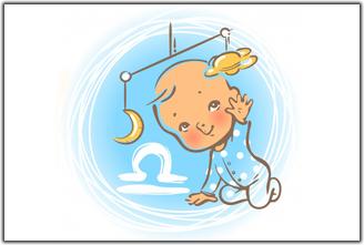 Детская астрология. Луна в Весах