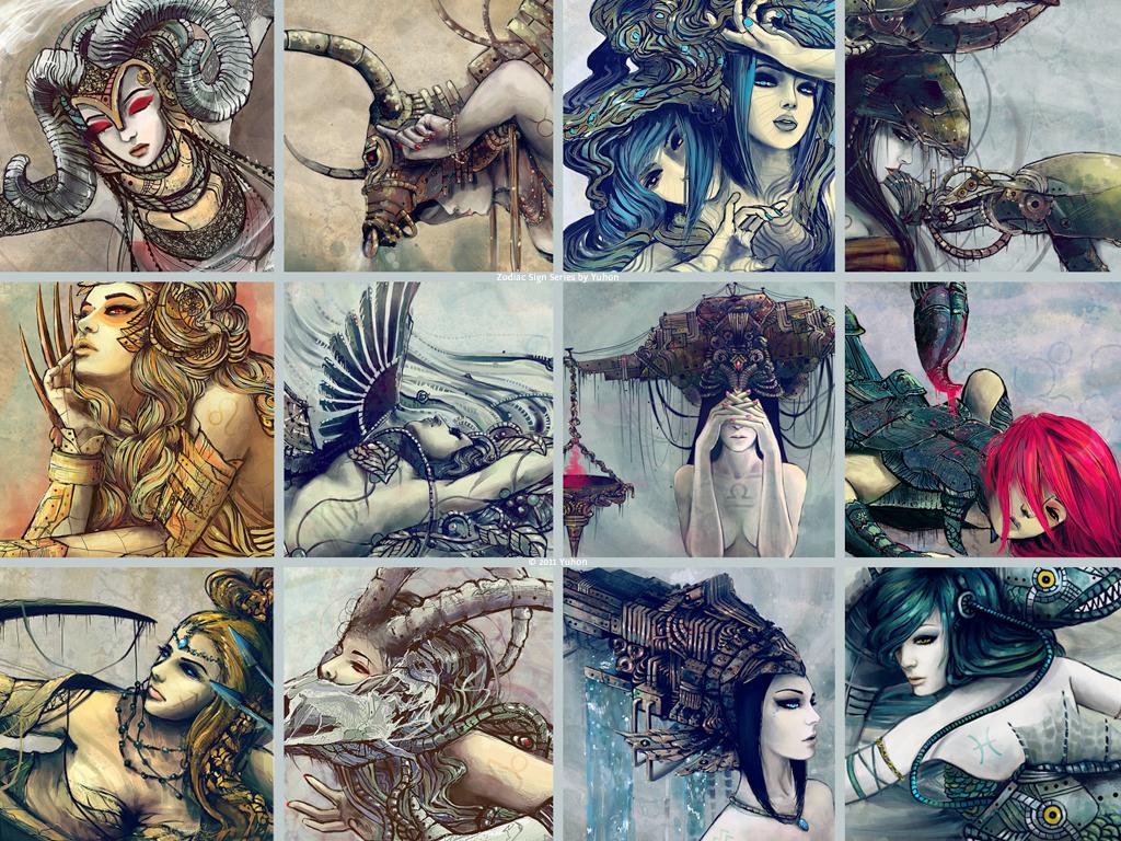 Знаки Зодиака в творчестве